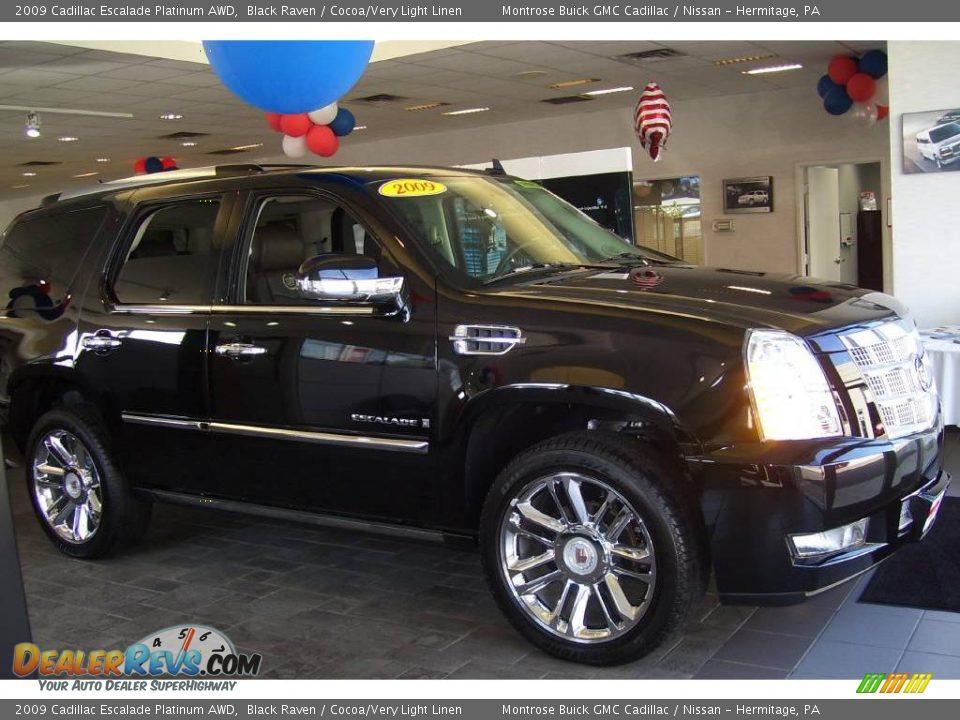 New 2009 Cadillac Escalade Platinum Awd For Sale Stock 809261
