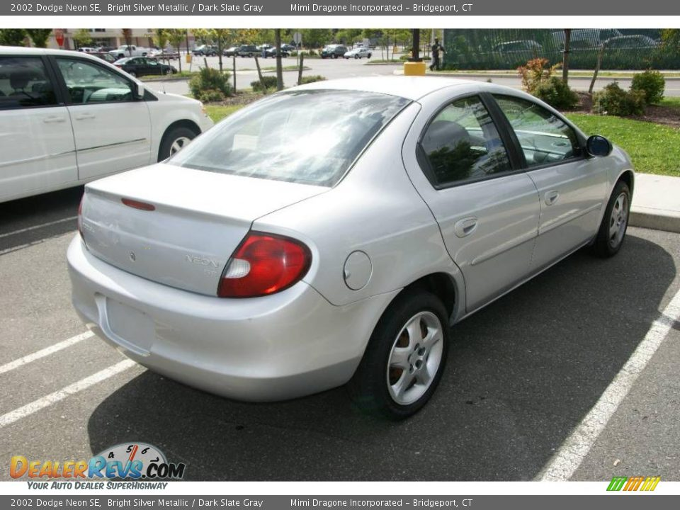 2002 dodge neon se bright silver metallic dark slate. Black Bedroom Furniture Sets. Home Design Ideas