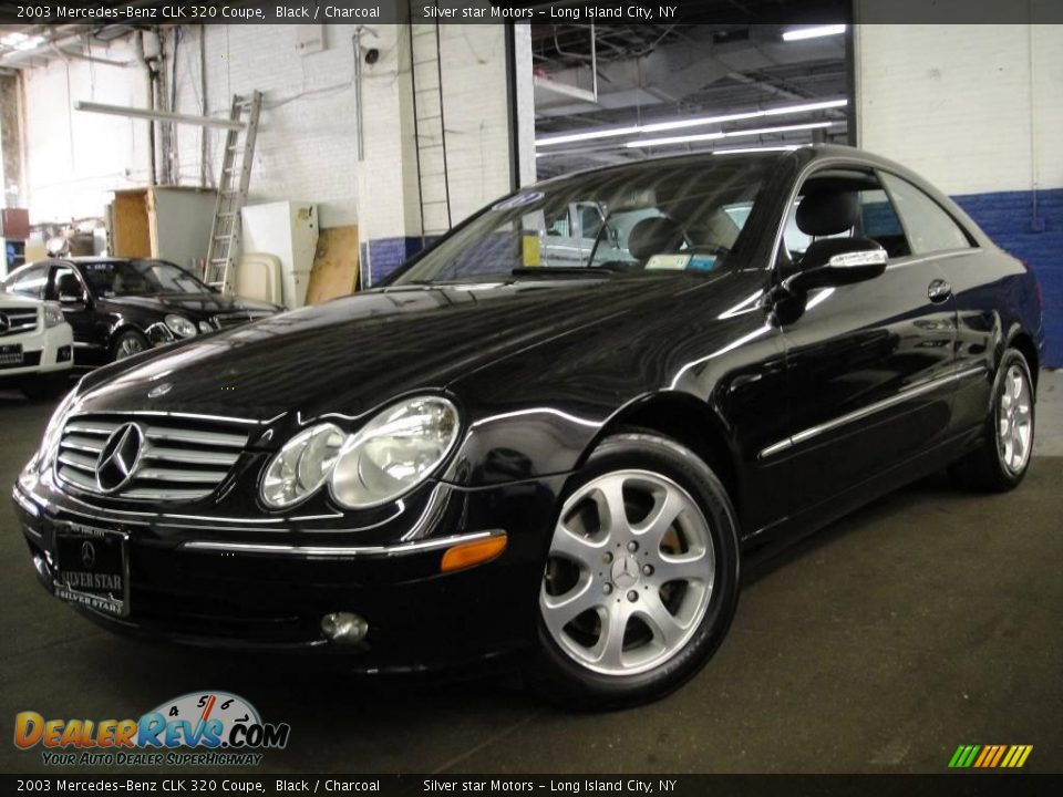 2003 mercedes benz clk 320 coupe black charcoal photo 1 for 2003 mercedes benz clk 320