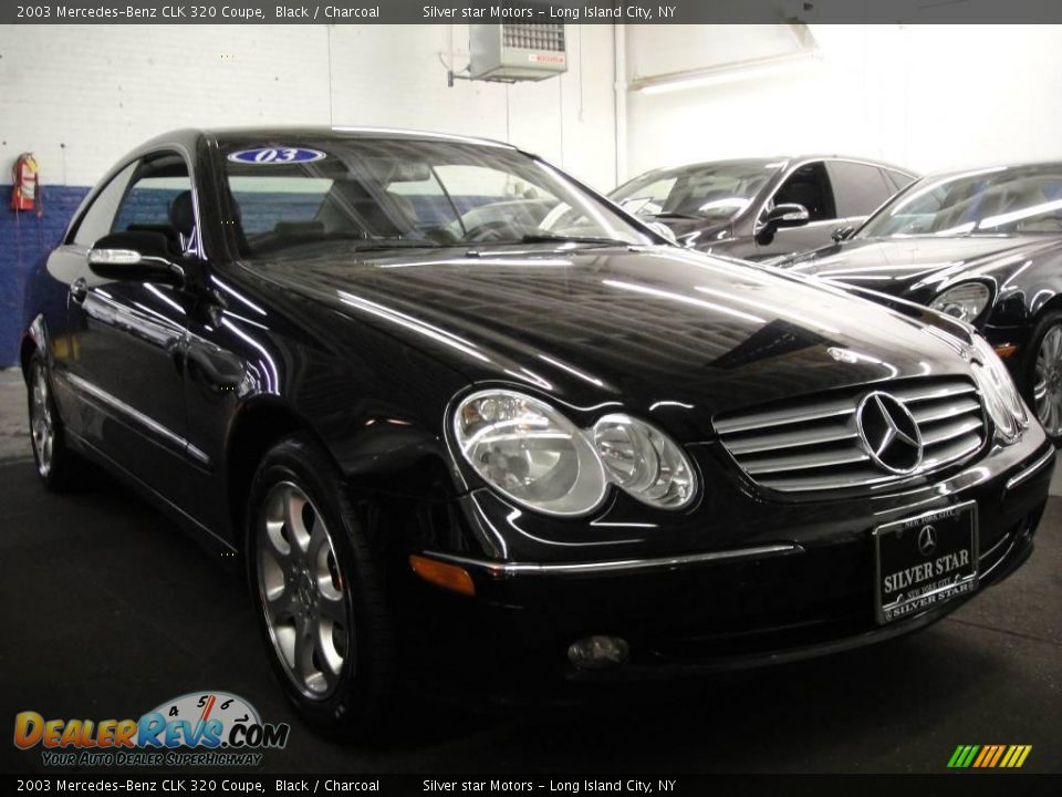2003 mercedes benz clk 320 coupe black charcoal photo 3 for 2003 mercedes benz clk