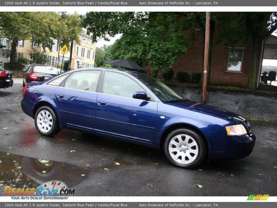 1999 Audi A6 2 8 Quattro Sedan Santorin Blue Pearl