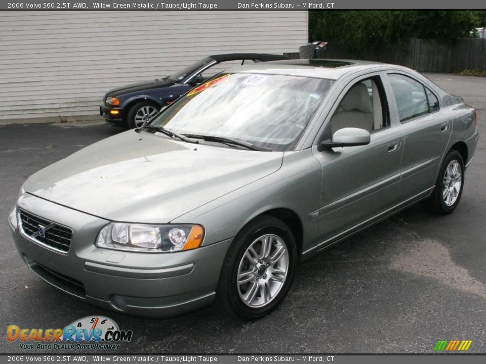 2006 Volvo S60 2 5t Awd Willow Green Metallic Taupe