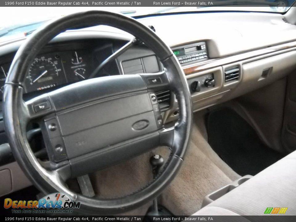 1996 Ford F150 Eddie Bauer Regular Cab 4x4 Pacific Green Metallic
