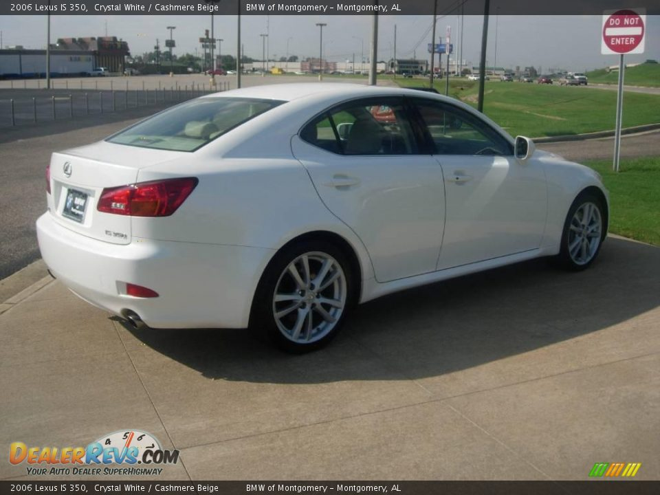 2006 Lexus Is 350 Crystal White Cashmere Beige Photo 4