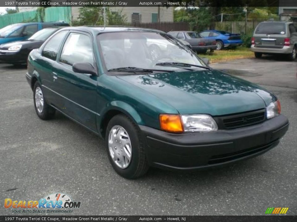 1997 toyota tercel ce coupe meadow green pearl metallic. Black Bedroom Furniture Sets. Home Design Ideas