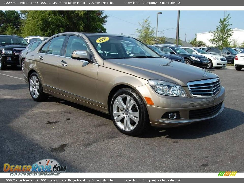 2009 mercedes benz c 300 luxury sand beige metallic for 2009 mercedes benz c 300
