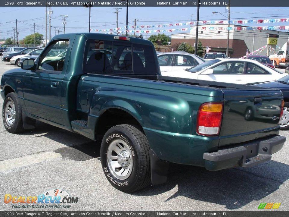 1999 ford ranger xlt regular cab amazon green metallic medium graphite photo 8 dealerrevs com