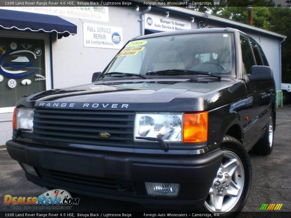 1998 land rover range rover 4 6 hse beluga black lightstone beige photo 1. Black Bedroom Furniture Sets. Home Design Ideas