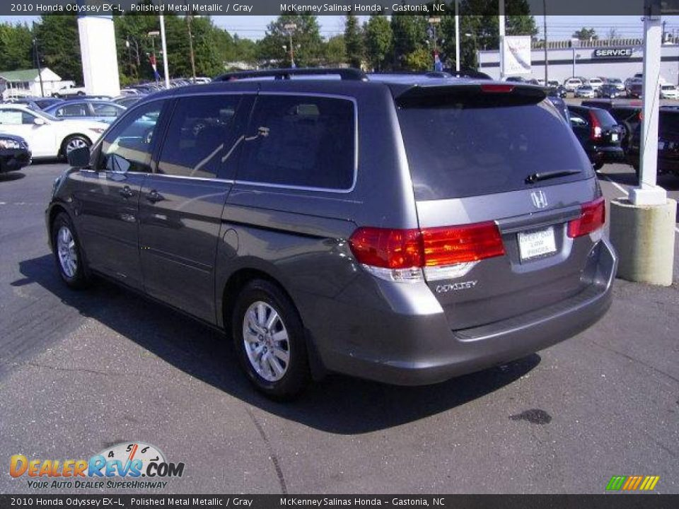 2010 honda odyssey ex l polished metal metallic gray