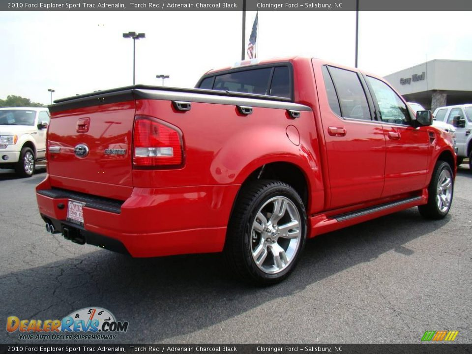 2010 ford explorer sport trac adrenalin torch red adrenalin charcoal black photo 3. Black Bedroom Furniture Sets. Home Design Ideas