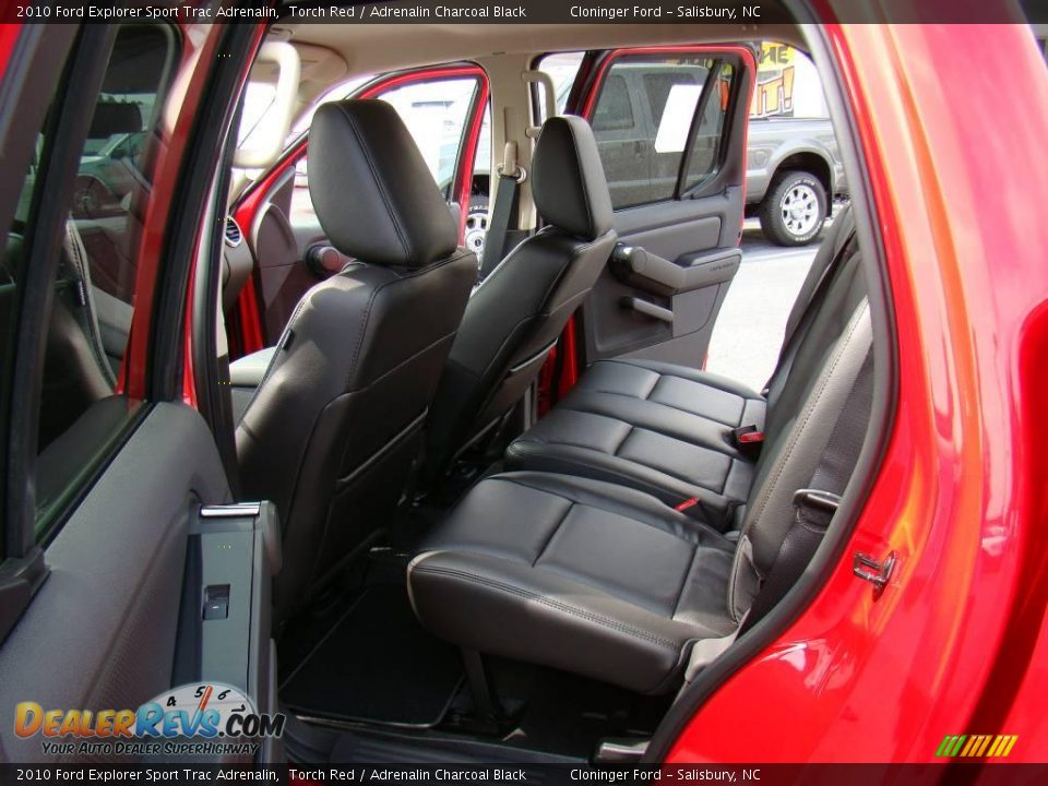 2010 Ford Explorer Sport Trac Adrenalin Torch Red / Adrenalin Charcoal