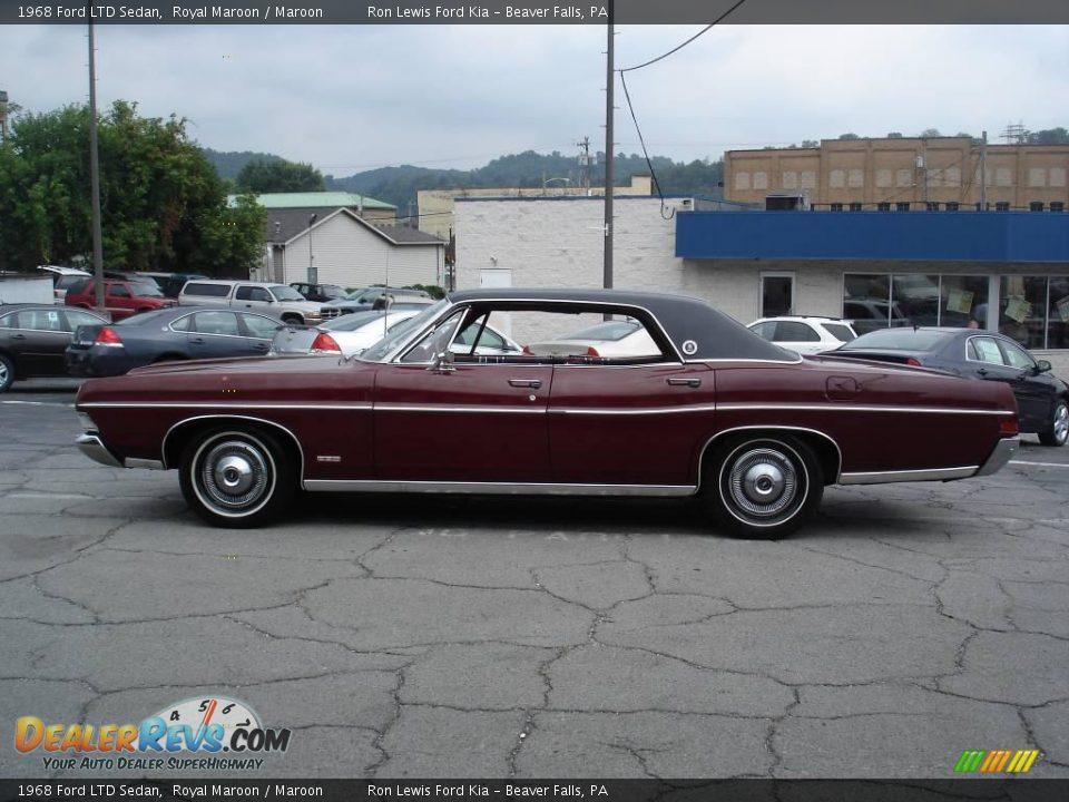 1968 ford ltd sedan royal maroon maroon photo 5 dealerrevs com