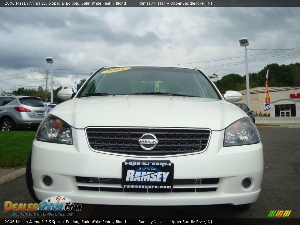 2006 nissan altima 2 5 s special edition satin white pearl. Black Bedroom Furniture Sets. Home Design Ideas