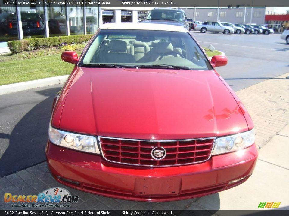 2002 Cadillac Seville Sls Crimson Red Pearl Neutral