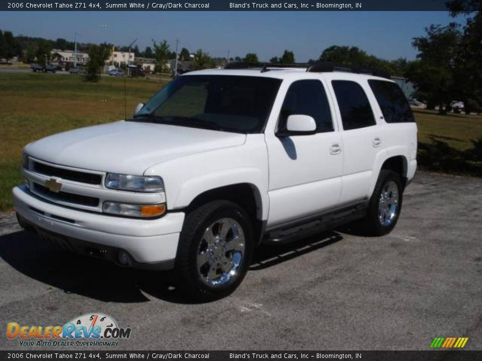 2006 Chevrolet Tahoe Z71 4x4 Summit White Gray Dark
