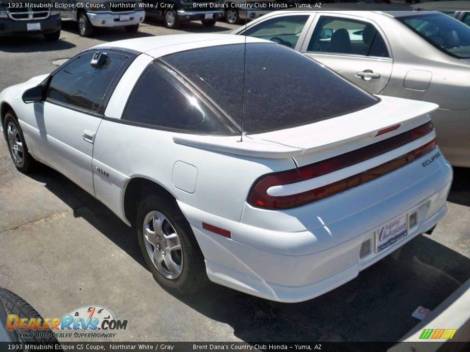 1993 Mitsubishi Eclipse GS Coupe Northstar White / Gray Photo #3 | DealerRevs.com