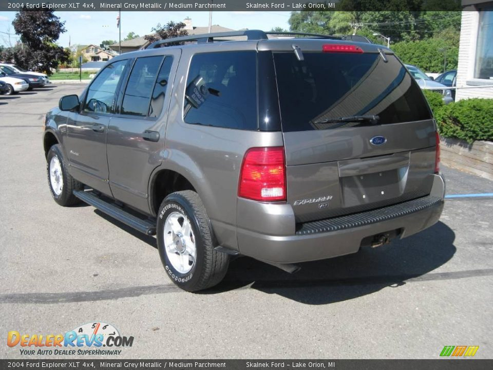 ford explorer xlt 4x4 mineral grey metallic medium parchment 2004 ford ...