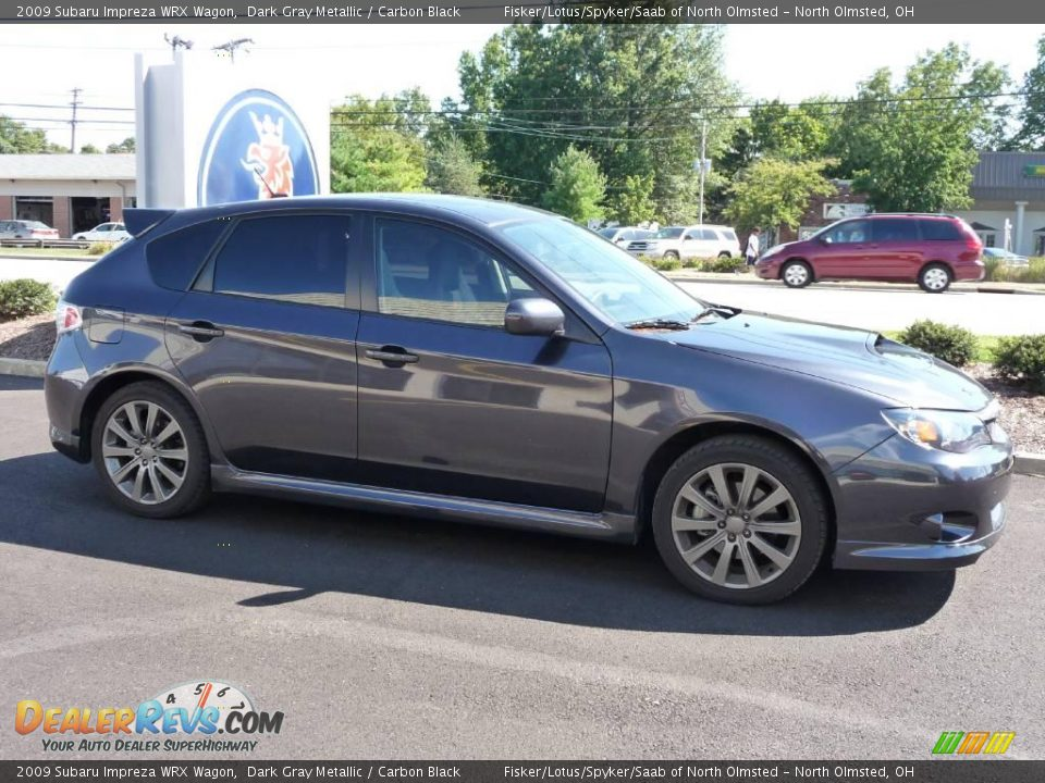 2009 subaru impreza wrx wagon dark gray metallic carbon black photo 4. Black Bedroom Furniture Sets. Home Design Ideas
