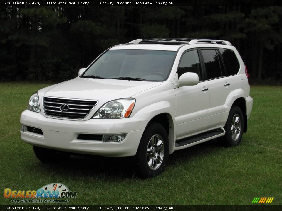2008 lexus gx 470 blizzard white pearl ivory photo 1. Black Bedroom Furniture Sets. Home Design Ideas