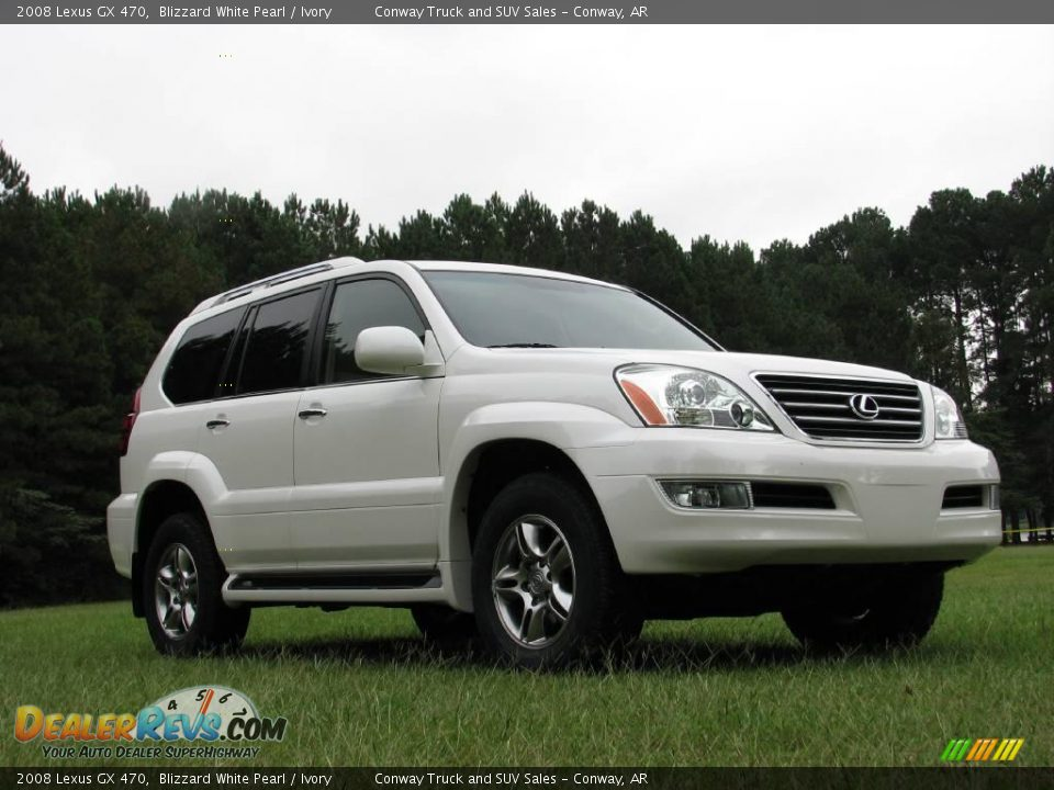 2008 lexus gx 470 blizzard white pearl ivory photo 3. Black Bedroom Furniture Sets. Home Design Ideas