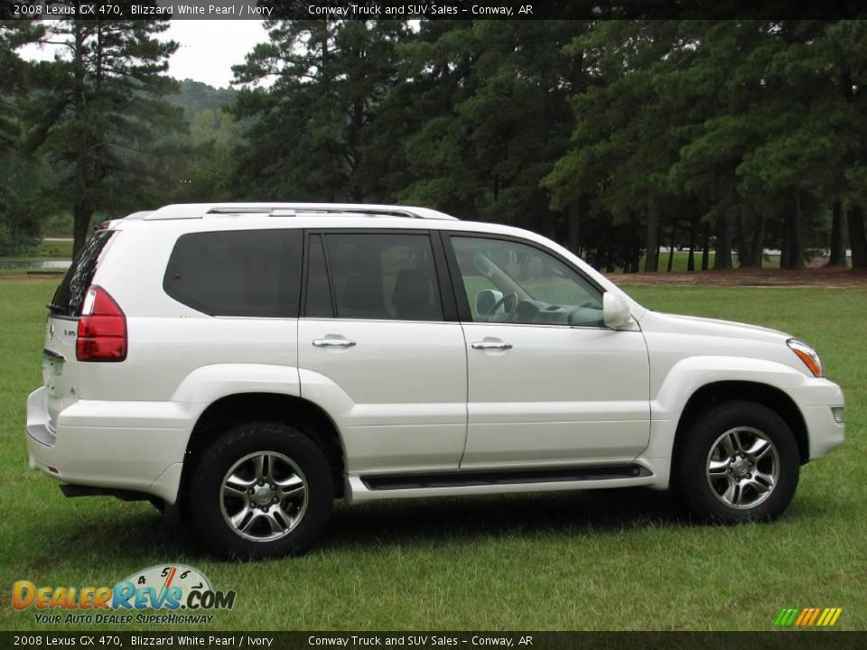 2008 lexus gx 470 blizzard white pearl ivory photo 4. Black Bedroom Furniture Sets. Home Design Ideas