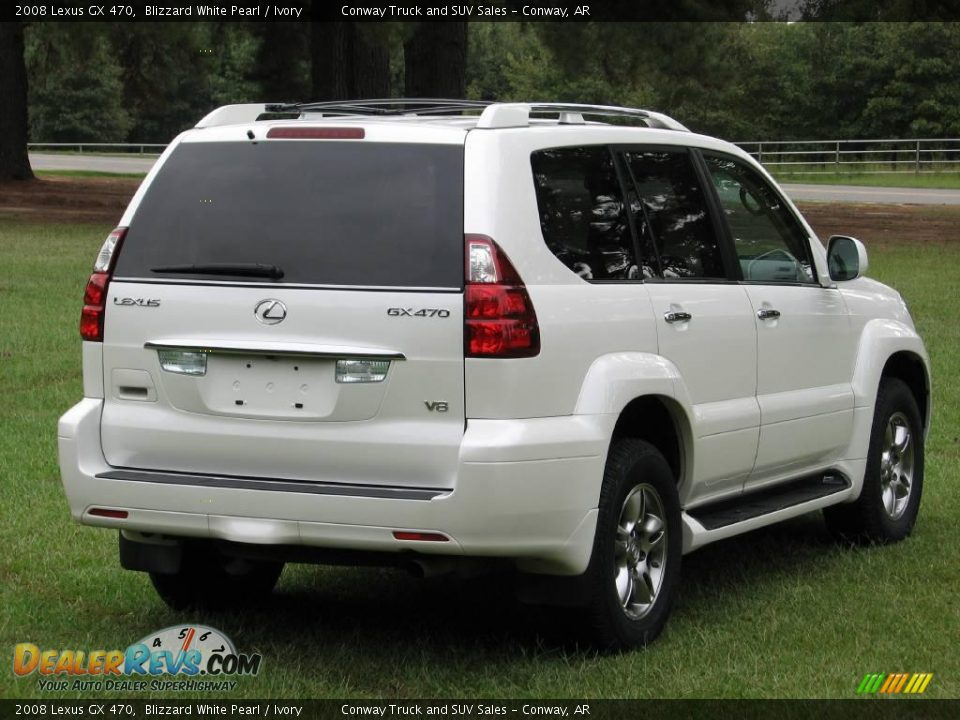 2008 lexus gx 470 blizzard white pearl ivory photo 5. Black Bedroom Furniture Sets. Home Design Ideas