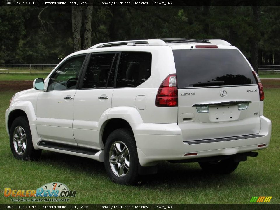 2008 lexus gx 470 blizzard white pearl ivory photo 6. Black Bedroom Furniture Sets. Home Design Ideas