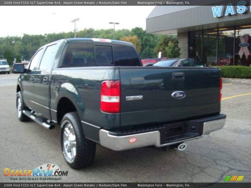 2006 ford f150 xlt supercrew 4x4 aspen green metallic. Black Bedroom Furniture Sets. Home Design Ideas