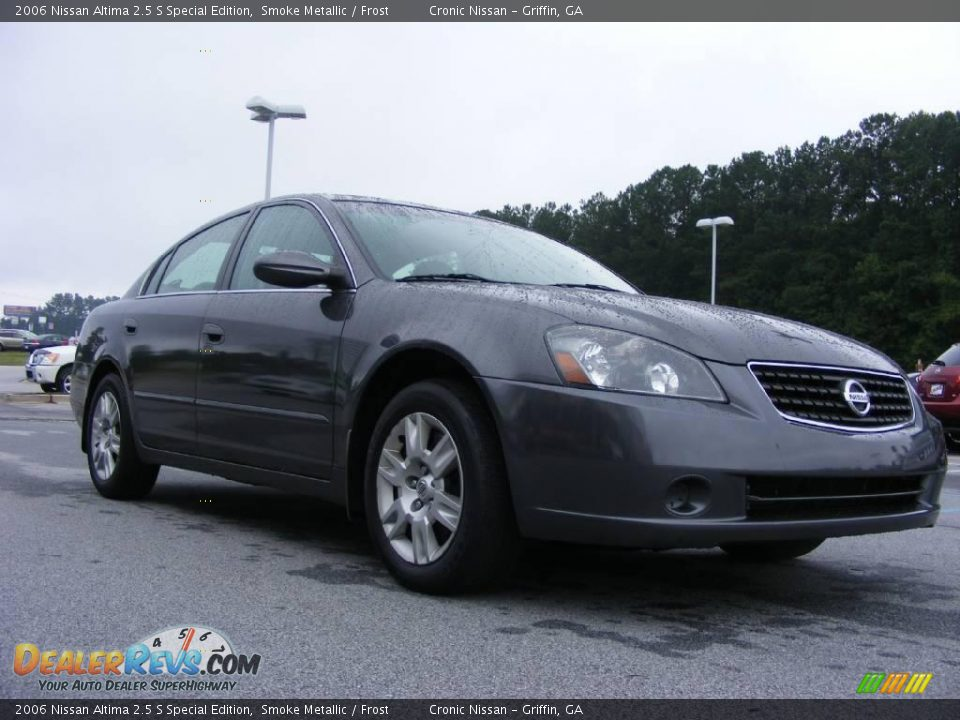 2006 nissan altima 2 5 s special edition smoke metallic frost photo 4. Black Bedroom Furniture Sets. Home Design Ideas