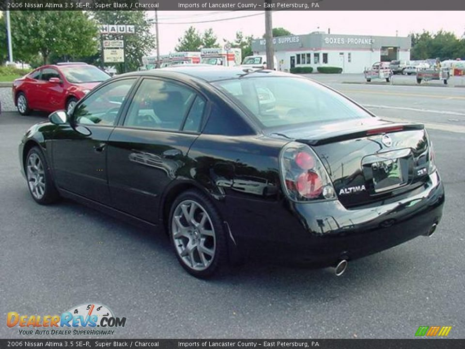 2006 nissan altima 3 5 se r super black charcoal photo 2. Black Bedroom Furniture Sets. Home Design Ideas