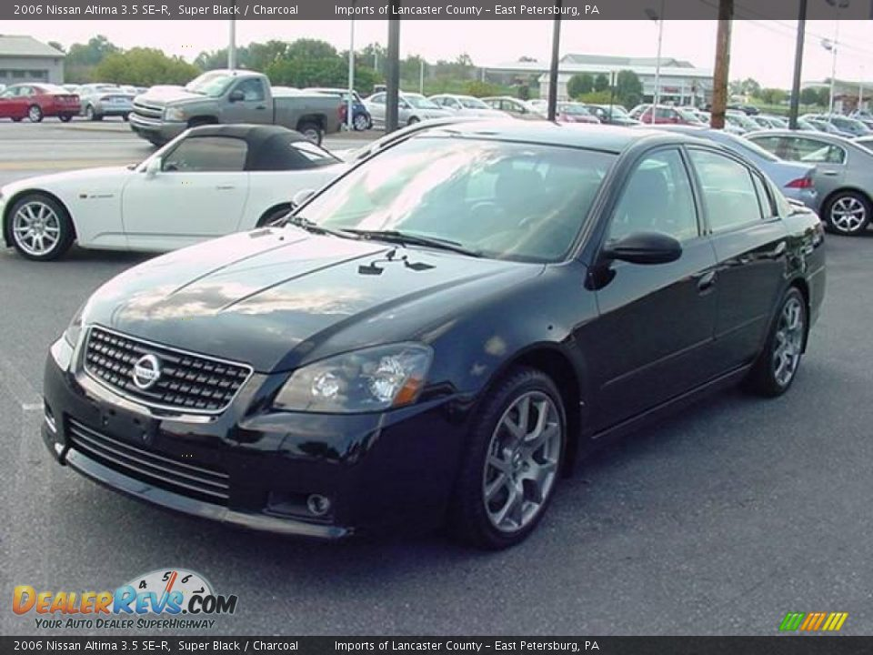 2006 nissan altima 3 5 se r super black charcoal photo 7. Black Bedroom Furniture Sets. Home Design Ideas