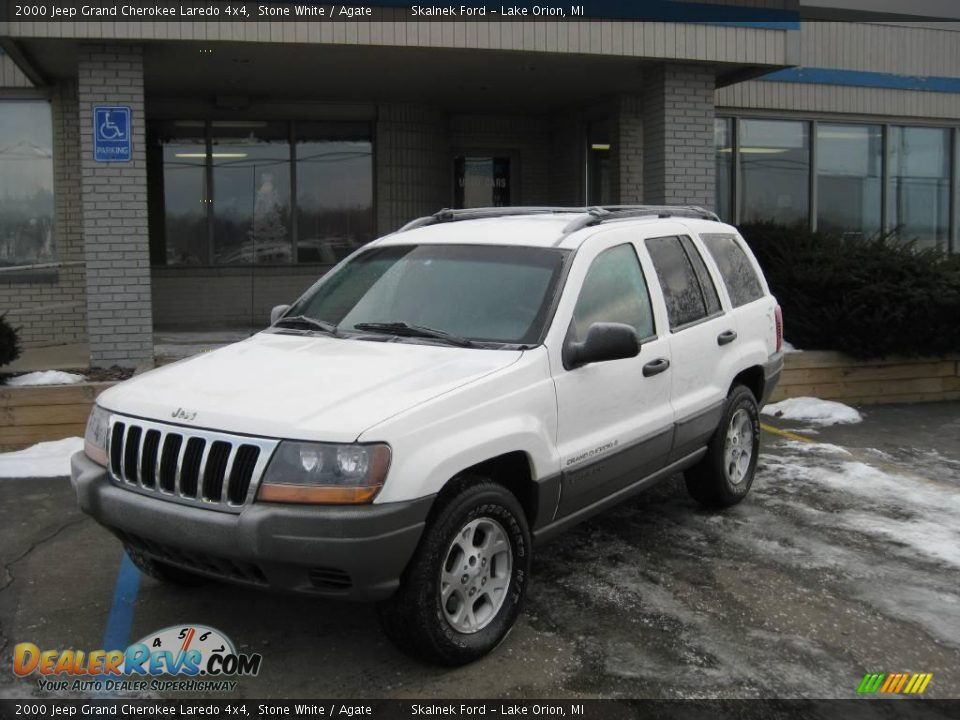 2000 jeep grand cherokee laredo 4x4 stone white agate photo 1. Cars Review. Best American Auto & Cars Review