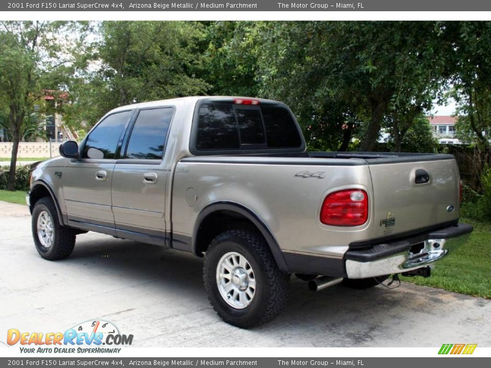 2001 ford f150 lariat supercrew 4x4 arizona beige metallic medium. Cars Review. Best American Auto & Cars Review