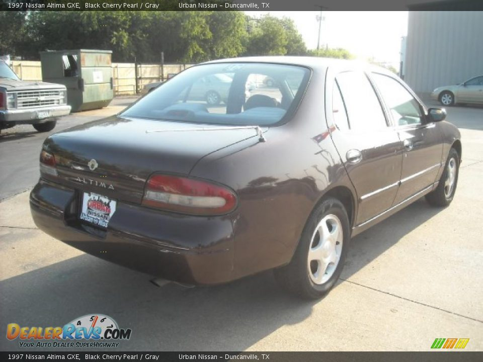 1997 Nissan Altima Gxe Black Cherry Pearl Gray Photo 4