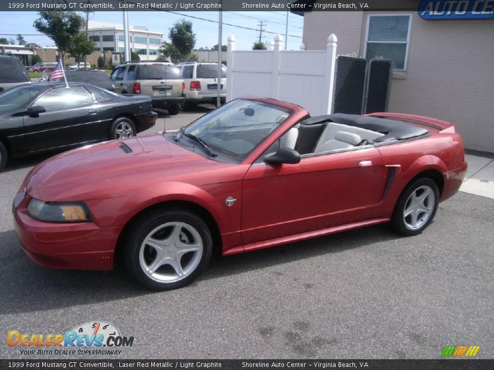 1999 ford mustang gt convertible laser red metallic. Black Bedroom Furniture Sets. Home Design Ideas