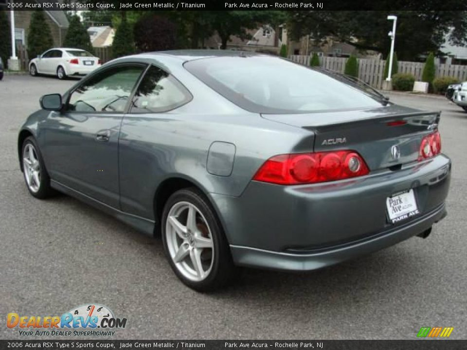2006 Acura Rsx Type S Sports Coupe Jade Green Metallic