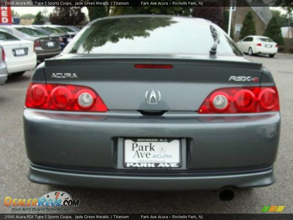 2006 Acura Rsx Type S Sports Coupe Jade Green Metallic Titanium
