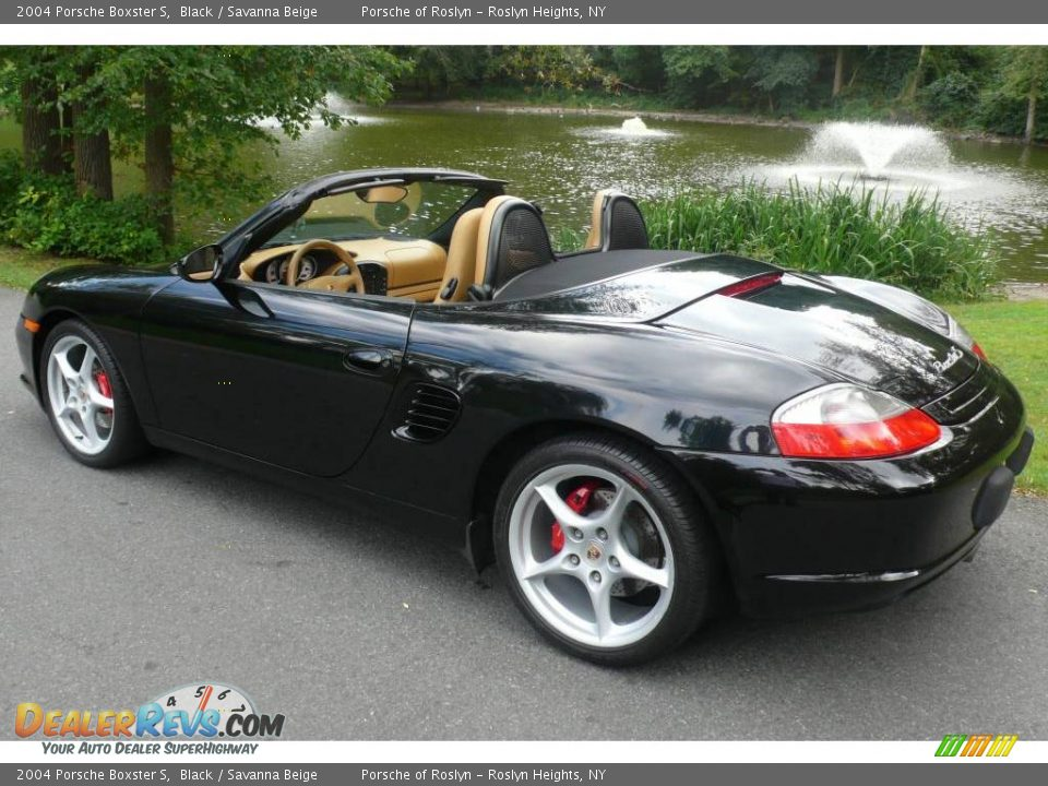 2004 porsche boxster s black savanna beige photo 9. Black Bedroom Furniture Sets. Home Design Ideas