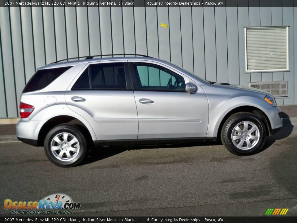 2007 mercedes benz ml 320 cdi 4matic iridium silver metallic black photo 2. Black Bedroom Furniture Sets. Home Design Ideas