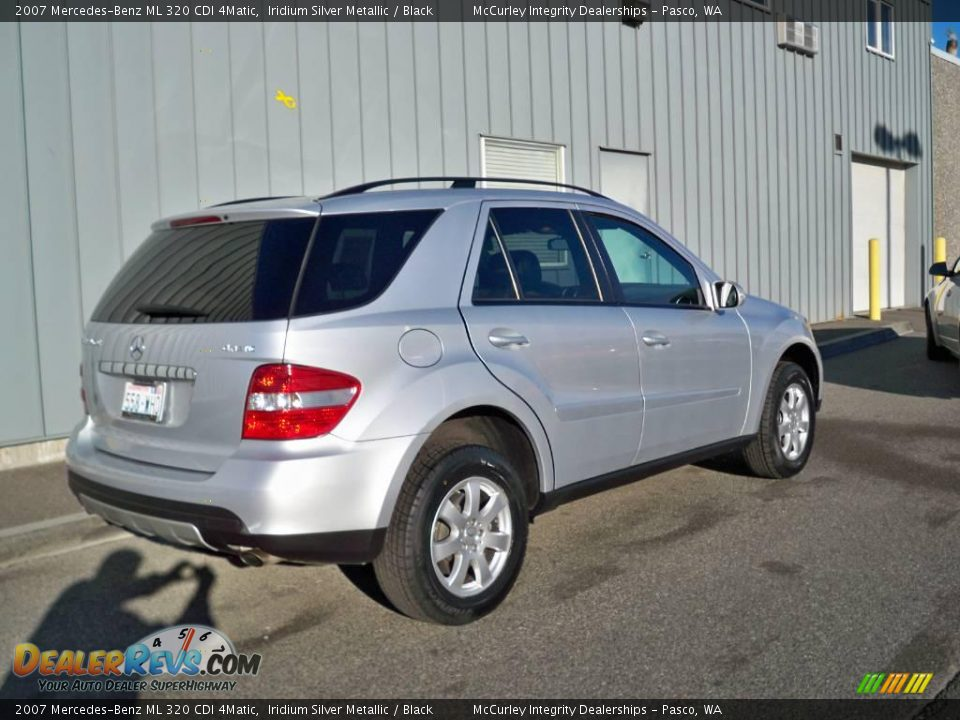 2007 mercedes benz ml 320 cdi 4matic iridium silver metallic black photo 3. Black Bedroom Furniture Sets. Home Design Ideas