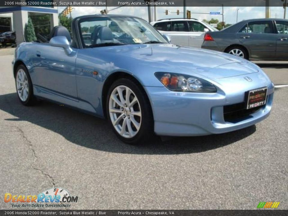 2006 Honda S2000 Roadster Suzuka Blue Metallic Blue