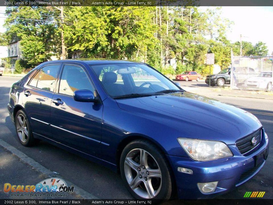 2002 Lexus Is 300 Intensa Blue Pearl Black Photo 2