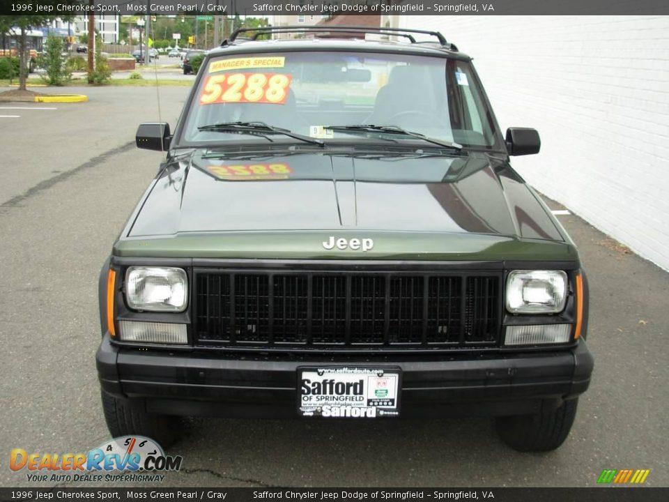 1996 jeep cherokee sport moss green pearl gray photo 8 dealerrevs com