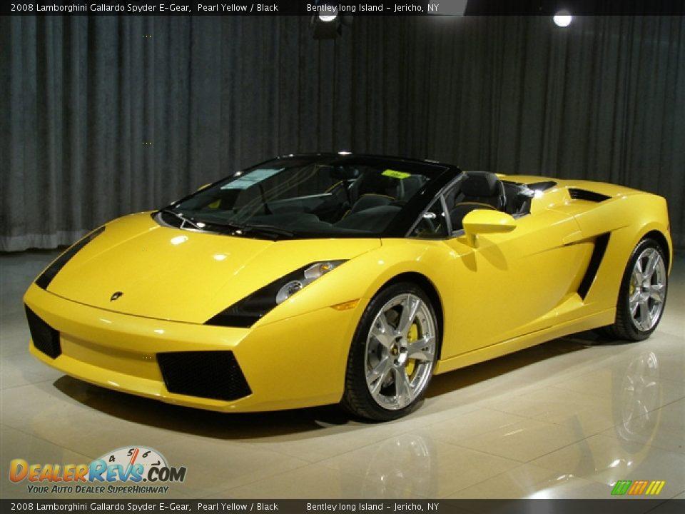 2008 Lamborghini Gallardo Spyder E-Gear Pearl Yellow ...