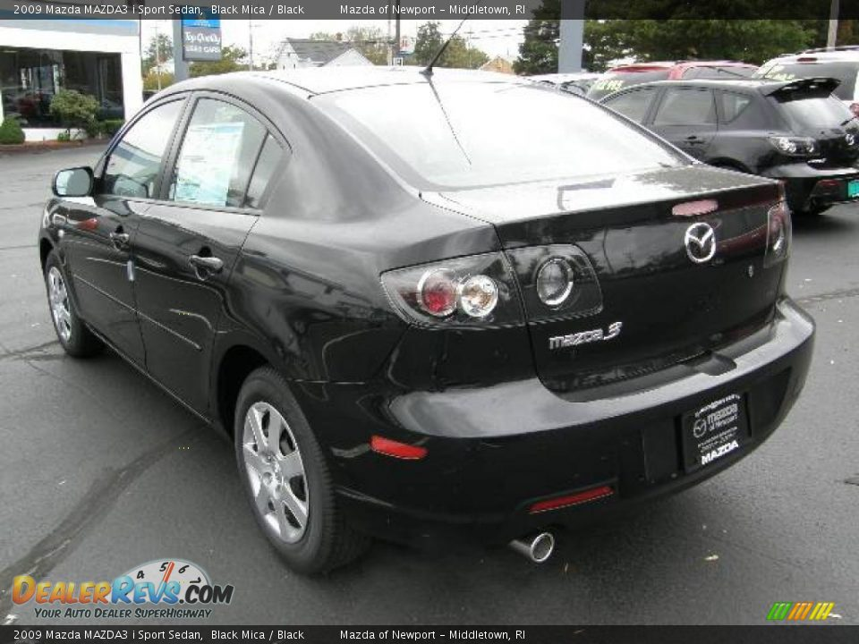 2009 mazda mazda3 i sport sedan black mica black photo. Black Bedroom Furniture Sets. Home Design Ideas