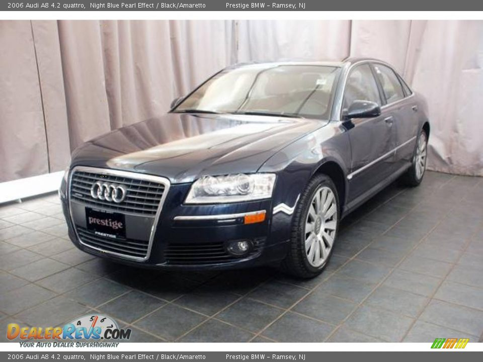 2006 Audi A8 4 2 Quattro Night Blue Pearl Effect Black