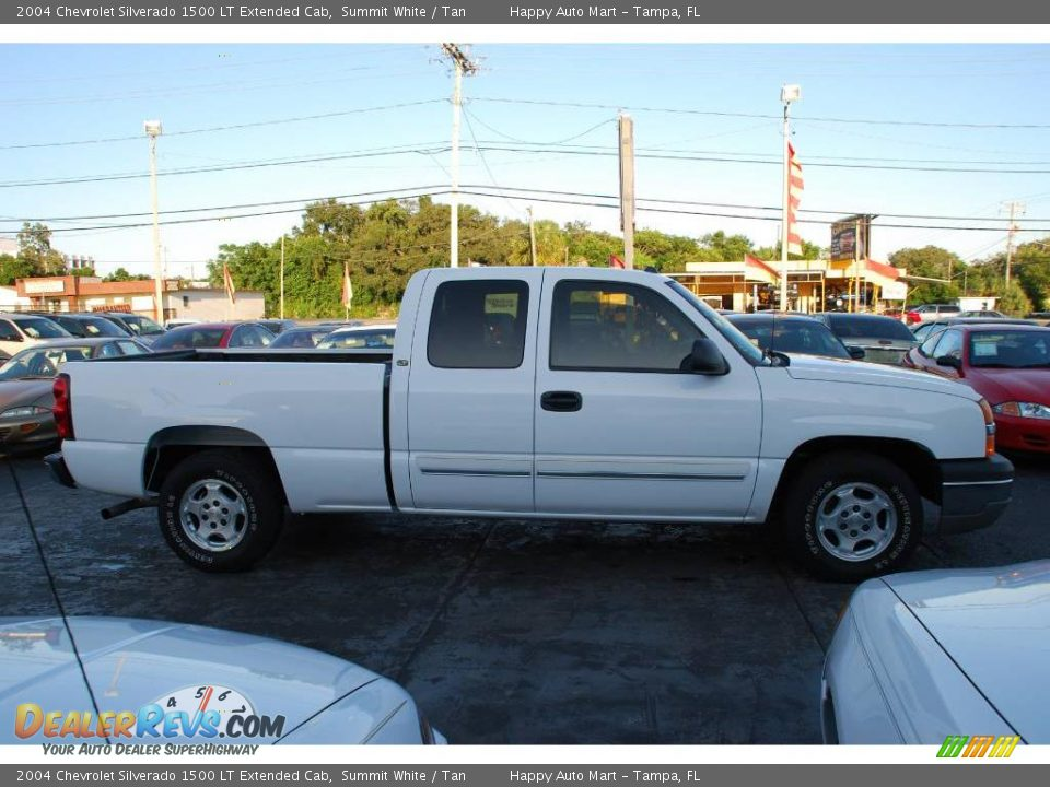 2004 chevrolet silverado 1500 lt extended cab summit white tan photo 4. Black Bedroom Furniture Sets. Home Design Ideas