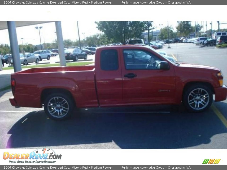 2006 chevrolet colorado xtreme extended cab victory red medium pewter photo 7 dealerrevs com