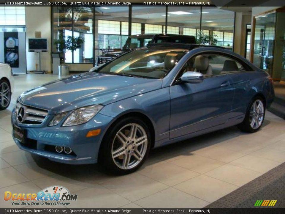 2010 mercedes benz e 350 coupe quartz blue metallic for 2010 mercedes benz e350 coupe