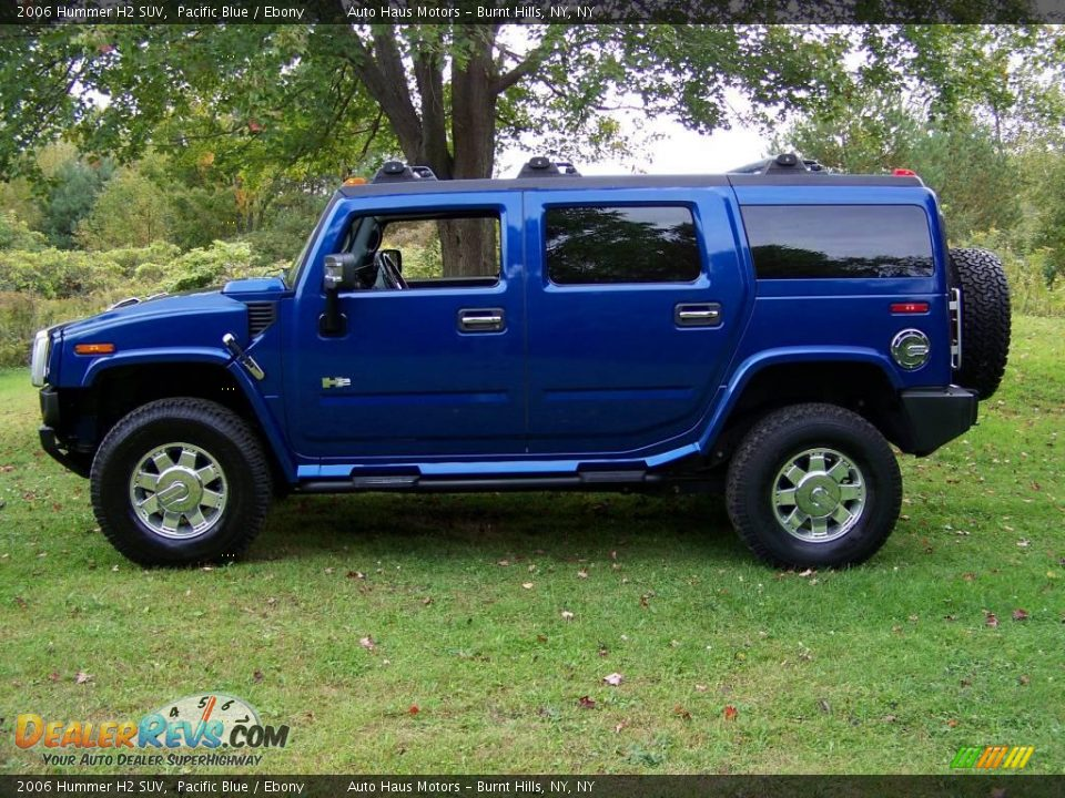 2006 Hummer H2 Pacific Blue